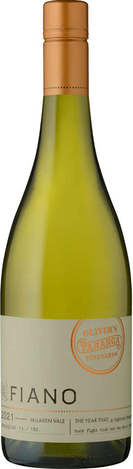 2021_Oliver's Taranga Vineyards Fiano